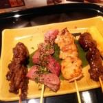 京の焼肉処 弘  - おまかせ五種盛り