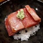 111549949 - 鮪の漬け丼 長崎の鮪は見るからに美味しそう✨✨