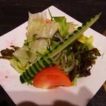 十兵衛うどん - サラダ