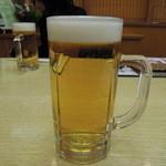 海鮮うまいもの処 磯の茶屋 - ドリンク写真:ビール