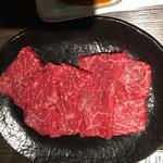 名産飛騨牛 丸明 - 飛騨牛の赤身です