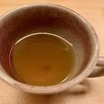 羽田市場 ギンザセブン - 金目鯛のスープ