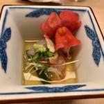 羽田市場 ギンザセブン - アオハタの炒り酒煮浸し