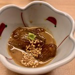 羽田市場 ギンザセブン - まぐろのお料理(たしか)
