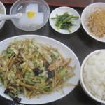 美食苑 - 五目野菜定食¥680@'11.11.下旬