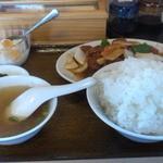 生香楼 - 酢豚定食(ご飯大盛)