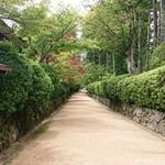 花菱 - 金剛峯寺より壇上伽藍へテクテク♪(´ω`)