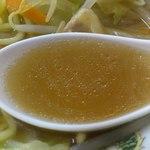 マルマ食堂 - スープはこんな感じ