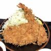 豚屋とん一 - 料理写真:●海老とん定食¥1123税込 ごはん、味噌汁付き ●ごはん大盛り¥54税込 お会計1177税込