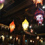 タージ・マハール - 店内は異国情緒溢れる雰囲気。
