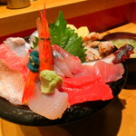 いきいき亭 - 海鮮丼