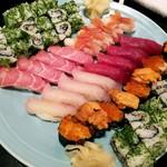 辰美寿し - 料理写真:お寿司盛り合わせ
