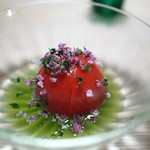 あさば - アメーラトマト含め煮