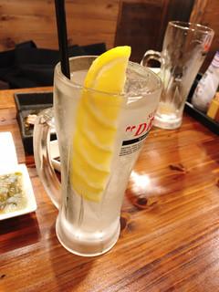 とりだん - レモン酎ハイ