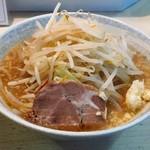 ラーメン JIDAI - ラーメン野菜マシにんにくアブラ