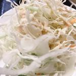 台湾料理 永旺 - エビチリ定食(サラダ)