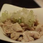 新宿 ばーる - 鳥皮ポン酢