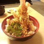 あさの - えび天丼 1200円