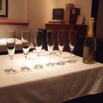 ヴィノテカサクラ - CAVALLERIで乾杯!