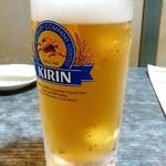 櫻バー - 櫻バー@清水五条 生ビール(580円)