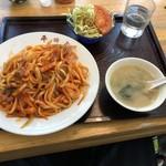 そば食堂 平田屋 - うどんナポリタン