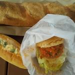 アンソレイエ・フジモリ - 料理写真:惣菜パンとバケットなど