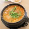 Nice 純豆腐 - 料理写真:海の幸スンドゥブ