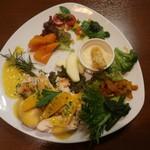 グラス・ア・ブー - メインの、若鶏のオランジェソース
