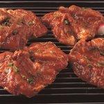 韓一館 - 炭焼きの鶏カルビ