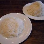 ステーキ カフェ ケネディ - ライス&ライス大盛