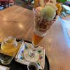 はづちを茶店 - 料理写真:パフェ¥950