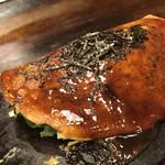 111593072 - 京風べた焼きの                       ねぎ焼き