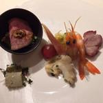 Oosakaheichinrou - 前菜の盛り合わせ