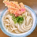 前場製麺所 - 料理写真:かけ大&赤板天