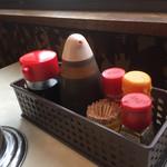 むつみ食堂 - テーブルセット