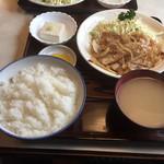 むつみ食堂 - 豚焼肉定食