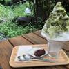氷と珈琲 - 料理写真:抹茶