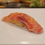 九段下 寿司政 - 甘鯛の昆布〆(握り)