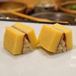 九段下 寿司政 - 玉子焼(握り)