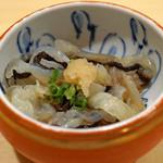 九段下 寿司政 - クラゲの酢の物