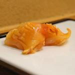 九段下 寿司政 - 赤貝