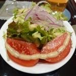 シチューとカレーの専門店 銀座 古川 - ポークカレーのサラダ