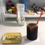 へんてこ屋 - アイスコーヒー(パソキッタ付きで税込500円)