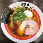 麺や でこ - 在りし日の醤油そば:780円+味玉:100円