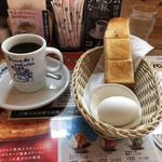 コメダ珈琲店 - ブレンドコーヒーモーニングセット