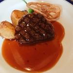 レストラン 栄光 - メイン 牛ひれステーキ