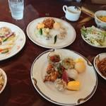 レストラン 栄光 - ビュッフェ料理