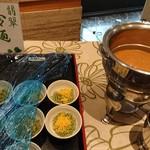 レストラン 栄光 - ビュッフェ料理冷麺