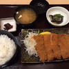 鉄板ステーキ ろく丘 - 料理写真:手仕込みとんかつ定食980円