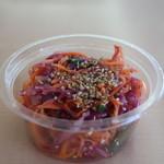 GnamGnam - 料理写真:紫キャベツと人参のラペ